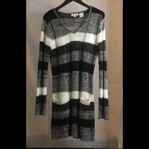 Ultra Flirt Sweater Dress with Pockets